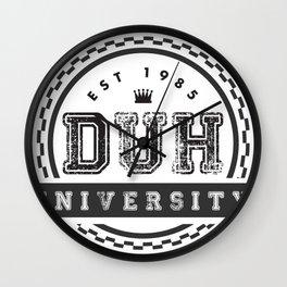 Duh University Wall Clock
