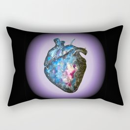 Galaxy anatomical heart Rectangular Pillow