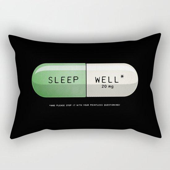 Sleep Well* Rectangular Pillow