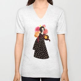 a rose by any other name Unisex V-Neck