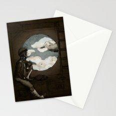 Aviator Girl (Steampunk) Stationery Cards