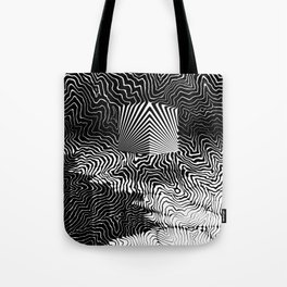 Awaiting the Abyss Tote Bag