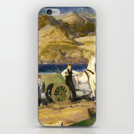 "George Wesley Bellows ""The Sand Cart"" iPhone Skin"