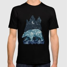 The Great Bear X-LARGE Black Mens Fitted Tee