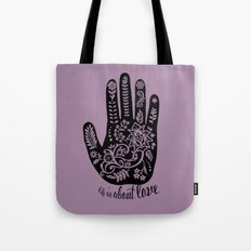 Life and Love Tote Bag