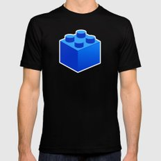 Lego LARGE Black Mens Fitted Tee