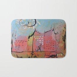 Pink City Bath Mat