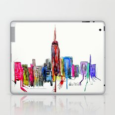 new york inked  Laptop & iPad Skin