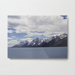 Grand Tetons: Colter Bay Metal Print