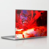 dracula Laptop & iPad Skins featuring count dracula by shiva camille