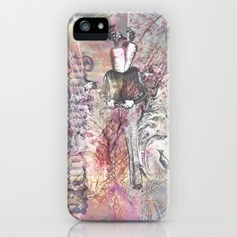 The Manly Carrot iPhone Case