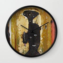 Lady of the Bathtub Wall Clock