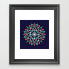 Bali Eyes - Night Variation Framed Art Print