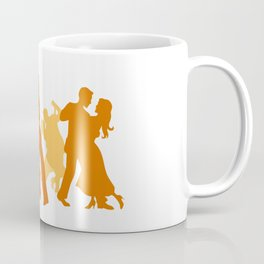 Tango Dancers Illustration  Coffee Mug