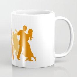 Tango Dancers Illustration  Coffee Mug
