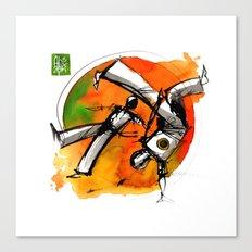 Capoeira 752 Canvas Print