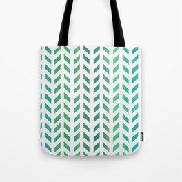 Watercolor rainbow arrows Tote Bag