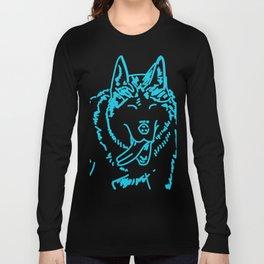 Happy Husky Long Sleeve T-shirt