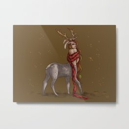 Girly Centaur Metal Print