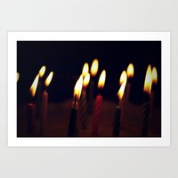 birthday Art Prints featuring Birthday by Cory