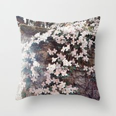 Blossom in Pink Throw Pillow