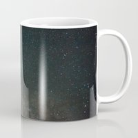milky way Mugs featuring Milky Way  by Mikography