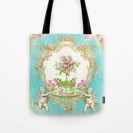 French Baroque Patisserie Tea Tote Bag