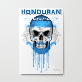 To The Core Collection: Honduras Metal Print
