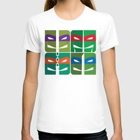 tmnt T-shirts featuring TMNT by Szoki