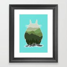 No more rainy days Framed Art Print