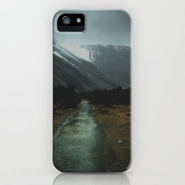 Hiking Around the Mountains & Valleys of New Zealand iPhone Case