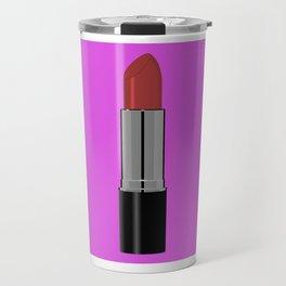 Lippy in Pink Travel Mug