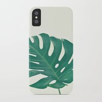 Monstera Slim Case iPhone X