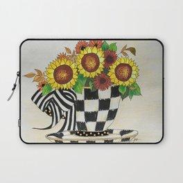 Sunflower Tea Laptop Sleeve