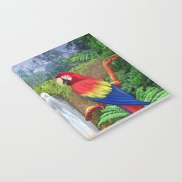 Macaw Tropical Parrots Notebook