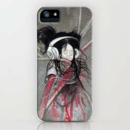 I love music iPhone Case