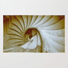Sand stone spiral staircase 14 Rug