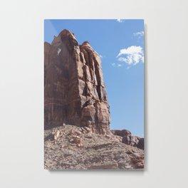 Desert Buttress Metal Print