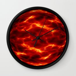 space alien planet Wall Clock