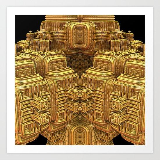 El Dorado Art Print