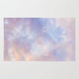 Pink sky / Photo of heavenly sky Rug