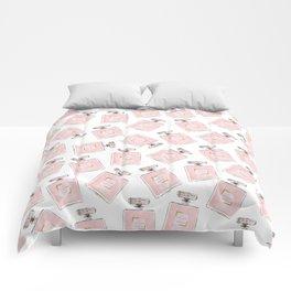 Pink Parfum Comforters