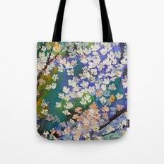 Sakura Oil Painting Tote Bag