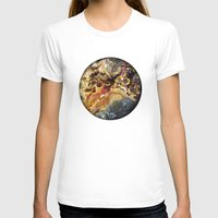 mineral T-shirts featuring Mineral planet-3: cacoxene. by Gaspar Garijo