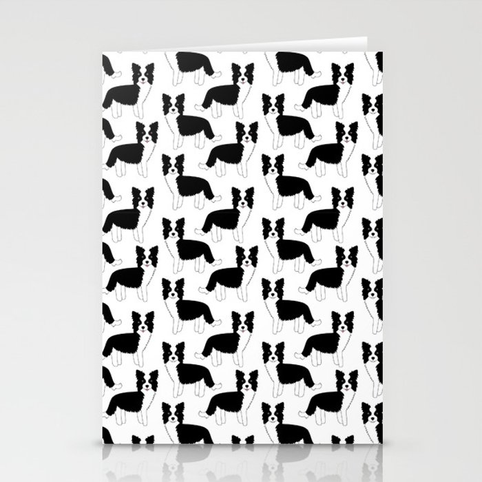 I love my Border Collie Stationery Cards
