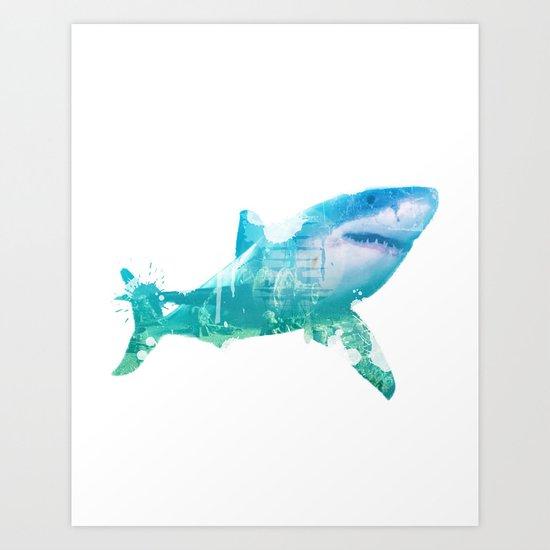 Shark 2016 Art Print
