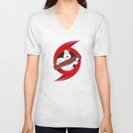 Hurricane Busters (2017) to benefit relief from Harvey and Irma Unisex V-Neck