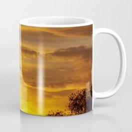 WAVES IN THE SUNRISE CLOUDS Coffee Mug