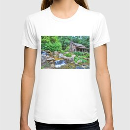 Cabin at the Botanical Gardens in Clemson T-shirt