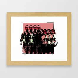 The Taxidermists by Christopher Lynch Framed Art Print